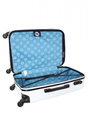 Valise - MYSTIC  BLANC - Taille S