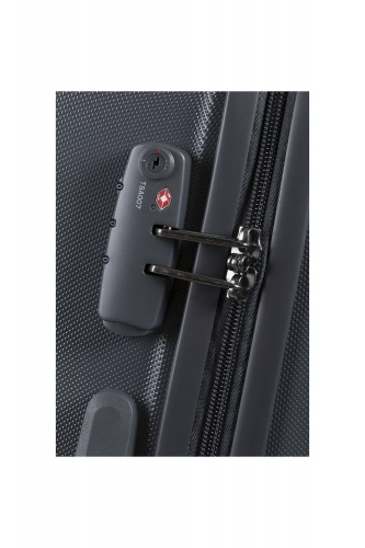 Valise  SCHEDULE 2  ANTHRACITE - Taille S