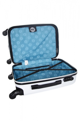 Valise - SCOOP  BLANC - Taille L