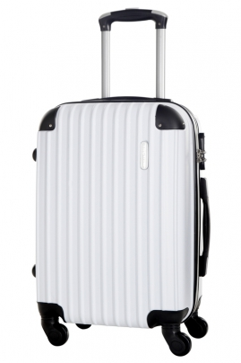Valise - SCOOP - BLANC - Taille S