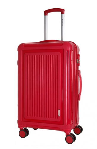 Valise - TORQUAY ROUGE INCASSABLE - Taille S