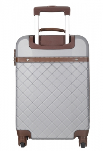 Valise - TRENDY  ARGENT -  Taille M