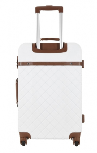 Valise - Trendy Blanc -  Taille M