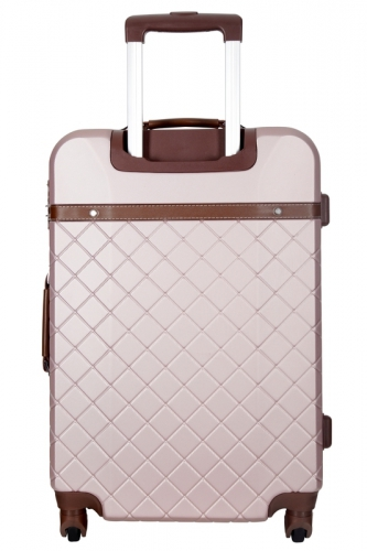 Valise - TRENDY ROSE GOLD  -  Taille S