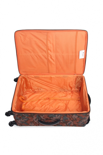 Valise - WORLD'S LIGHTEST LEATHER BROWN CAMO - Taille L