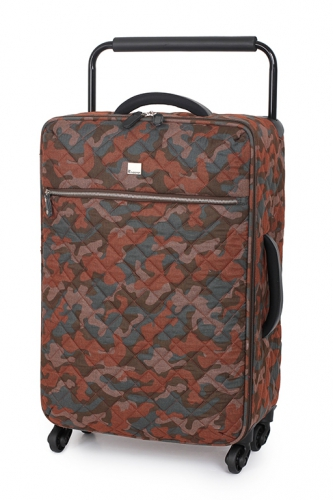 Valise - WORLD'S LIGHTEST LEATHER BROWN CAMO - Taille M