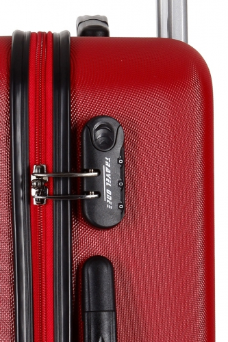Valise - WORTHING ROUGE - Taille M